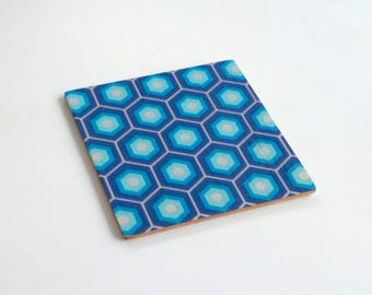 Objectify Retro Tile Coasters - Set of 4