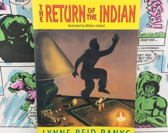 The Return of the Indian (Indian in the Cupboard sequel) - Young Adults - YA
