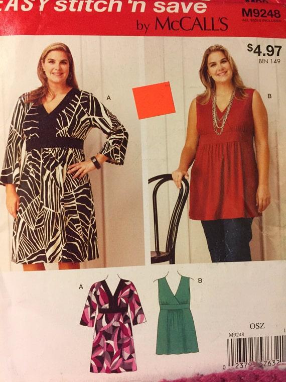 Fácil coser \' n guarde patrón M9248 de McCALL ~ más mujeres de ...