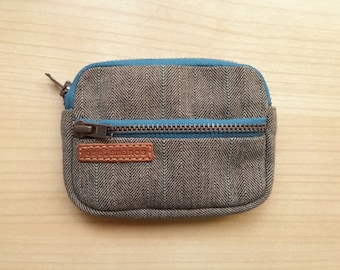 Front pocket wallet / Gift for him/ Gift for dad