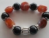 Order for Pat-  Bulky-Already sent-All Gemstone-Beaded Stretch Bracelet (191)