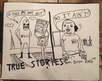 True Story (original drawing)