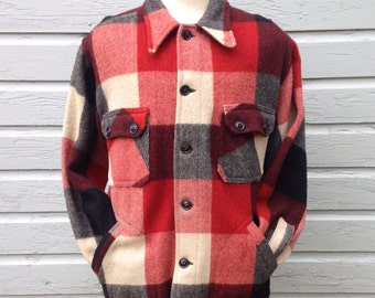 1930's-1940's wool cruiser jacket, large