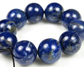 RESERVED for Joy ~ Premium Grade Genuine Natural Lapis Lazuli Round Bead - 10mm - 10 beads - B6922