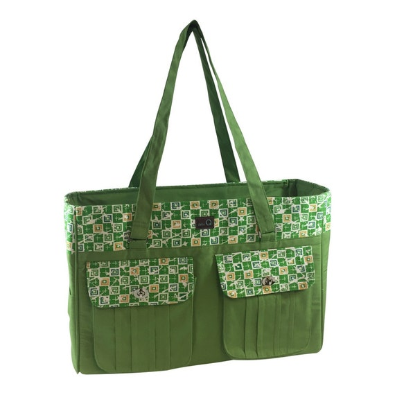 Della Q Isabella Large Knitting Bag