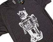 ON SALE Vintage Robot Computer Science Geek Nerd Geekery T Shirt Gift Idea Engineer Scientist Robotic Sc Fi Present Gifts For Him Men Women