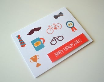 Happy Father's Day Card - Card for Dad
