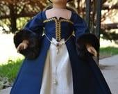 Doll Dress Tudor Renaissance Medieval Elizabethan