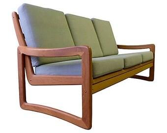 Mid Century Modern TEAK SOFA couch