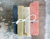 Complexion Soap Sampler   {All-Natural, Cold Process Soap, Farmstead Soap, Handcrafted}