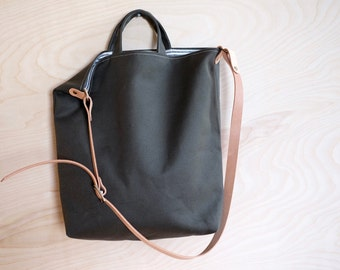 Canvas Carryall | Olive Green