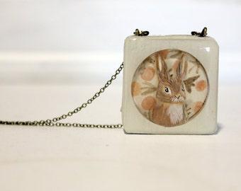 Vintage Bunny Necklace
