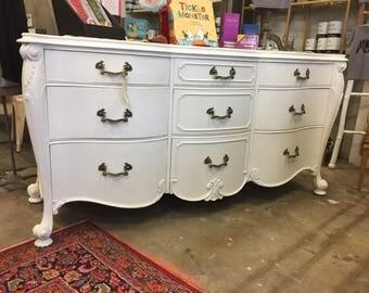 Long White Dresser 4/20