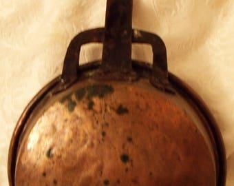 Antique Copper Cooking Pot, Antique Cooking, SALE, Antique Copper Pot, Copper Hanging Pot, Kitchen Hanging Pots, Kitchen Decor, Vintage Pot