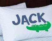 Kids Pillow Personalized- Stocking Stuffer -Kids pillowcase with name - Birthday Gift