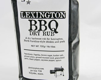 BBQ Rubs by the Pound --- Your Choice of Our Most Popular Rubs in 1lb. Packages - Perfect For Pitmaster