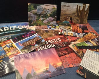 Twenty Arizona upcycled tour book envelopes