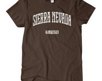 Women's Sierra Nevada California T-shirt - S M L XL 2x - Ladies' Tee, Gift, Sierra Nevada Shirt, Carson City, South Lake Tahoe, Girl Shirt