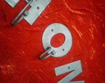 Custom listing for jacs 1185.....3 letter hooks A M Q