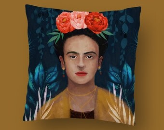 Frida Kahlo Scandi Cushion Pillow