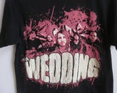 Vintage Style T-Shirt The Wedding band graphic concert men's S small