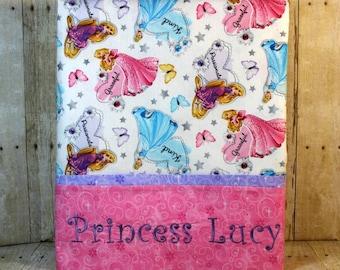 Disney Princesses Pillowcase, girls pillowcase, standard pillowcase, Disney Princesses