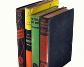 "Vintage Book Lot of 4 Leslie Charteris ""The Saint"" Short Story Books - Vintage Crime Club - Crime Fiction Books from 1930s - Home Decor"