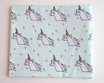 Rico Design unicorns fabric fat quarter