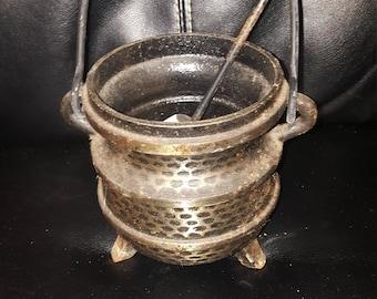 Vintage heavy medicine moftar bowl