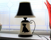 Vintage Scotty Dog Lamp
