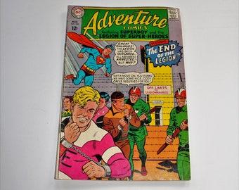 Comic Book Adventure Comics DC Comics #359 August 1967 Silver Age