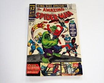 Comic Book The Amazing Spiderman Marvel Comics Vol 1 #3 Nov 1966 Silver Age