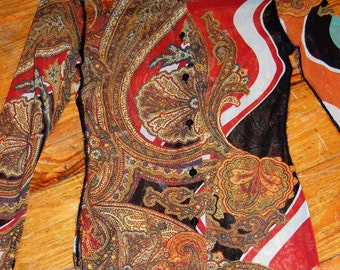 Jean Paul Gaultier Paisley Sheer Shirt