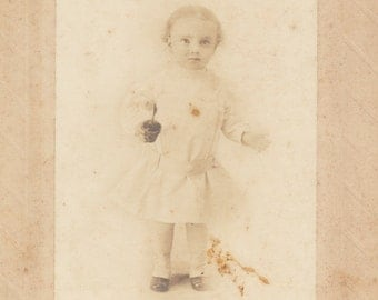 Surreal Portrait cabinet card vernacular photography found photo social realism