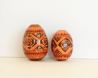 Handpainted Decorative Wooden Eggs