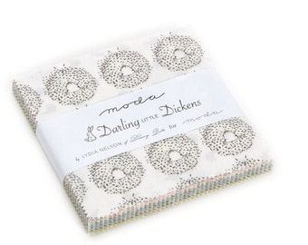 Moda - Lydia Nelson of Dreamy Quilts - Darling Little Dickens Charm Pack