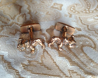 Vintage Bulldog Cufflinks