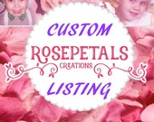 Custom Listing For adrianarosa95 .....please do not purchase unless you are She