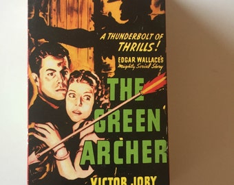 The Green Archer (VHS) Two Tape Set