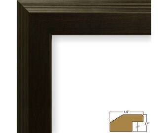 craig frames 24x36 inch brazilian walnut picture frame mossehaus 15 wide fw4wa2436