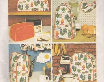 Kitchen Appliances & Pot Holder Pattern Simplicity 5495 Uncut