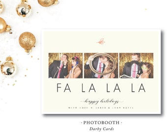 Photobooth Holiday Cards