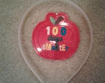 100 Days Smarter headband slider - Hair accessory