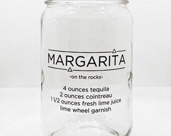 Margarita Recipe Pint Mason Jar