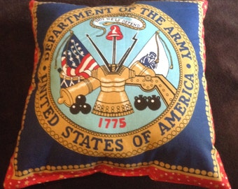 US Army pillow