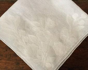 Vintage Lace Handkerchief,Bridal Hankie