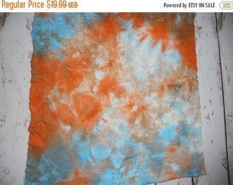 Dyed Bamboo Fleece dyed fabric mama pad fabric, cloth diaper fabric, baby clothing fabric, Koi Fish 26 x 23