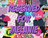 Memory Quilt ~ Reserved for Melanie