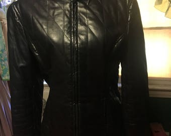 Faux Leather Jacket Made in Italy