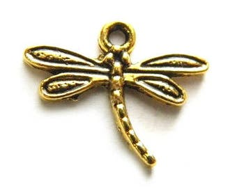 12 - Dragonfly charms
